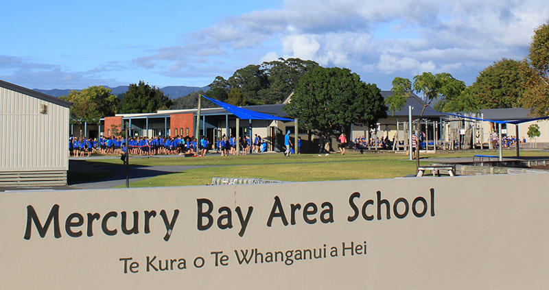 Mercury Bay Area School - Education, Whitianga, New Zealand